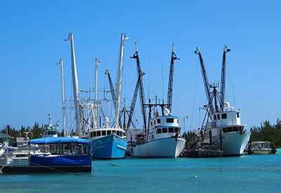 Eleuthera's Fishing boating of Spanish Wells