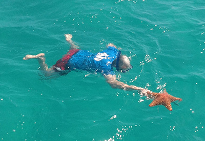 Eleuthera - Snorkeling at Current Cut