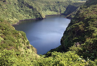 Azores - freshwater lakes in Flores