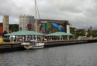 Midland Harbour Mural
