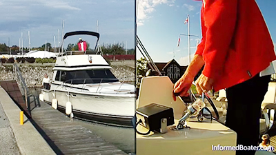 Confident Sailor/Relucant Sailor 2 - Power boat docking lessons