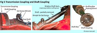 transmission and shaft coupling
