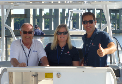 Jeanneau Outboards Event