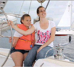Big Sisters Sail Past