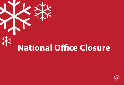 National Office Closure