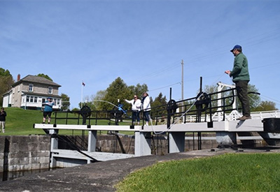 Le Boat season opening at the Rideau Canal