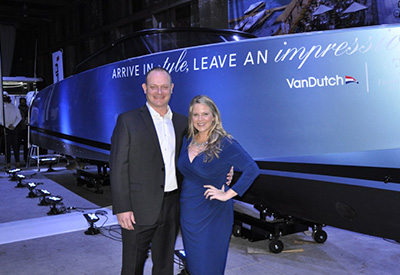 VanDutch Launch - Rob Walters and Leanne Ruest