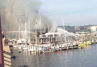 Annapolis Yacht Club Fire 2