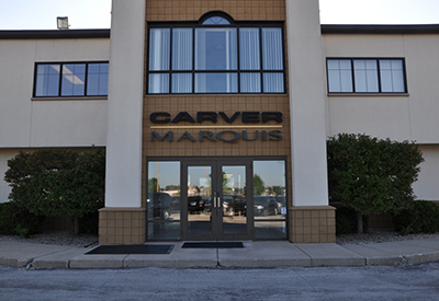 Carver Marquis front entrance