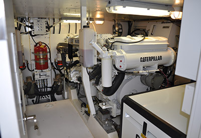 Neptunus 55 Express engine room