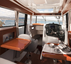 Beneteau Barracuda Interior
