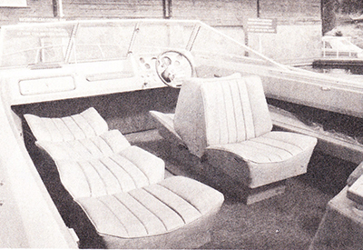 Century Raven 190 - sleeper seats