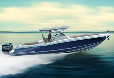Chris Craft Catalina 34 Running