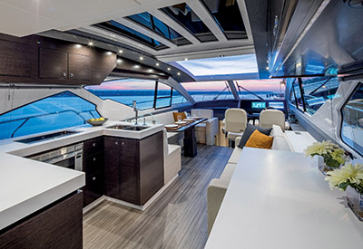 Cruisers Cantius 60 - Galley