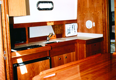Mainship 34 Pilot - Galley