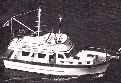 Marine Trader 40 Sedan - Overview