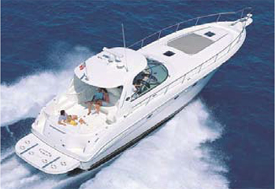 Sea Ray 500 Sundancer - Running