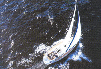Bavaria 36 - Aerial view
