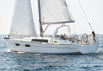 Beneteau Oceanis 35 - Under Sail