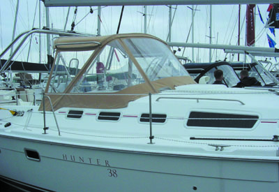 Hunter 38 - Profile