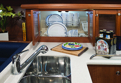 Marlow Hunter 37 Galley