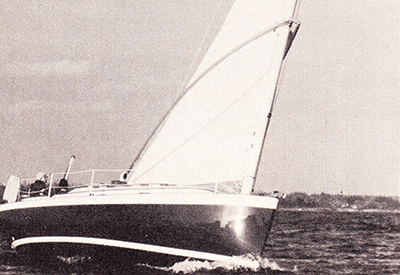 Nonsuch 26 - Pointing angle