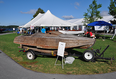 Antique Boat Museum - Wooden boats on Display