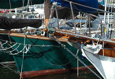 Vancouver Wooden Boat Festival - Bowsprits