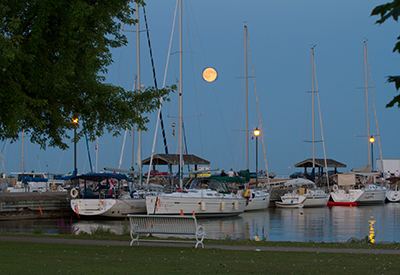 Galley Guys - Cobourg Harbour Moon