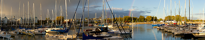Galley Guys - Cobourg Harbour Panorama