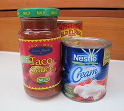 Mexican Appetizer Ingredients