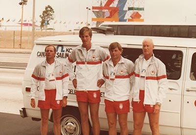 Dennis Toews - Yachting Team