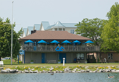 Cobourg Yacht Club - 2016 Clubhouse