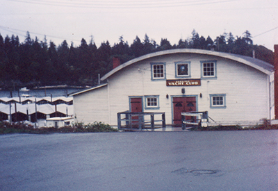 Nanaimo Yacht Club - Original Clubhouse