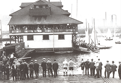 Queen City Yacht Club in 1910