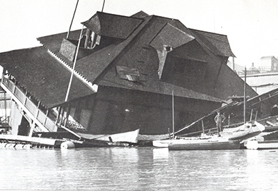 Queen City Yacht Club in 1920