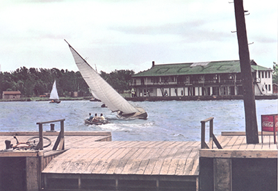 Queen City Yacht Club in 1939