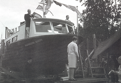 Queen City Yacht Club in 1968