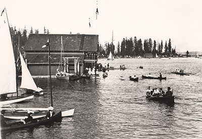 Royal Vancouver Yacht Club - First Clubhouse