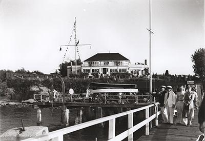 Royal Vancouver Yacht Club - Clubhouse 1938
