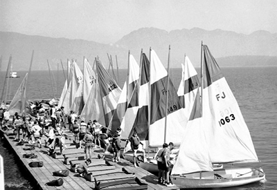 Royal Vancouver Yacht Club - First Flying Juniors