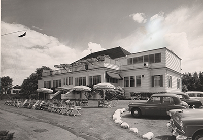 Royal Vancouver Yacht Club - Clubhouse 1959