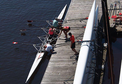 Vancouver Rowing Club, Sculls Launching