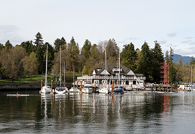 Vancouver Rowing Club Sculls