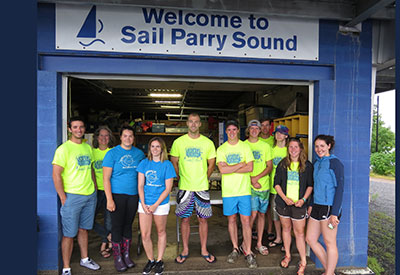 Sail Parry Sound Welcome