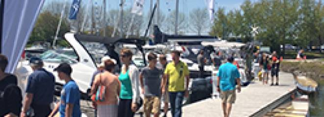 Port Credit Spring Boat Show Offered Enthusiastic Crowds and Great Attendance