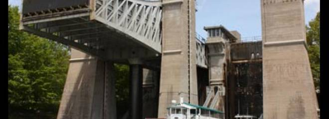 Spring Maintenance for Trent-Severn Waterway Bridges