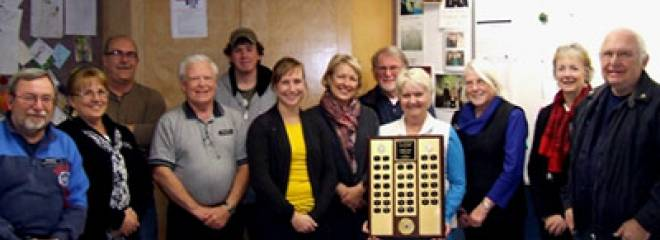 Brentwood Bay Power and Sail Squadron Receives Boat Armour Trophy Again This Year