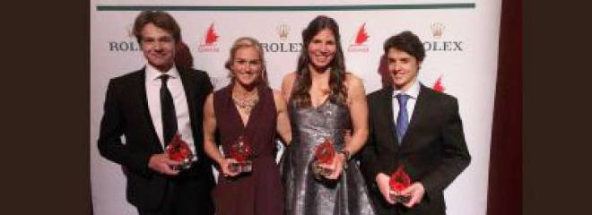NS Sailors Recognized at Sail Canada Rolex Awards