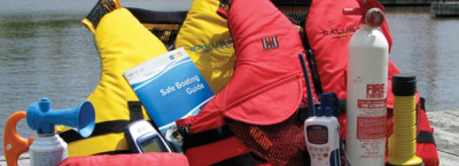 Boating Safety Equipment Education and Flare Disposal Days Help Boaters
